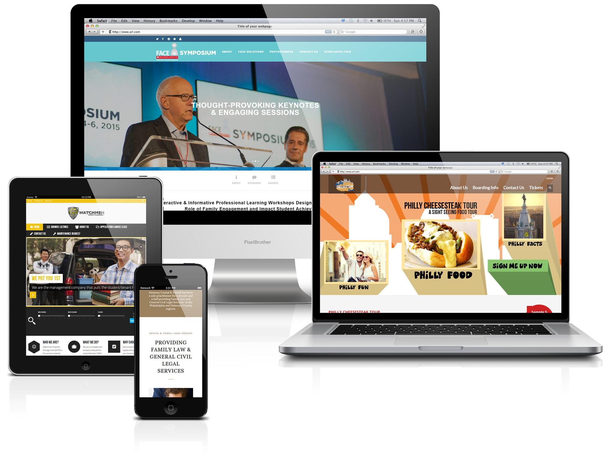 Responsive-Web-Design-Flat