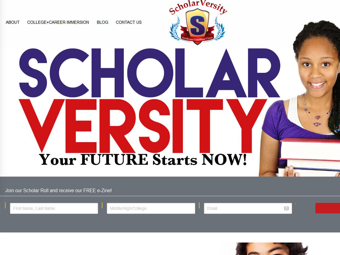 scholarversity homepage