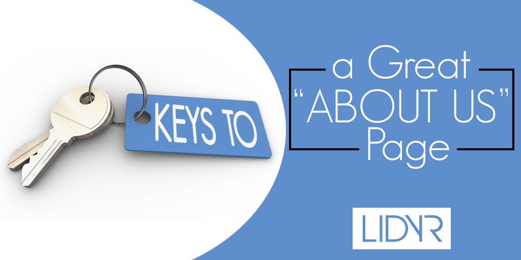 Keys to a great About us page