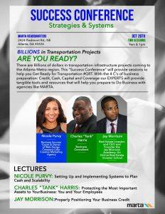 Success Conference: Strategies and Systems 9AM @ MARTA Headquarters | Atlanta | Georgia | United States